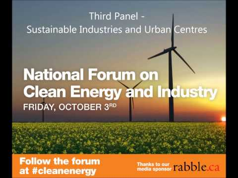 IN THE HOUSE - Podcast-3rd panel - National Forum on Clean Energy and Industry