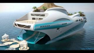 Luxury Tropical Island Yacht Concept | Your Stylo Tube