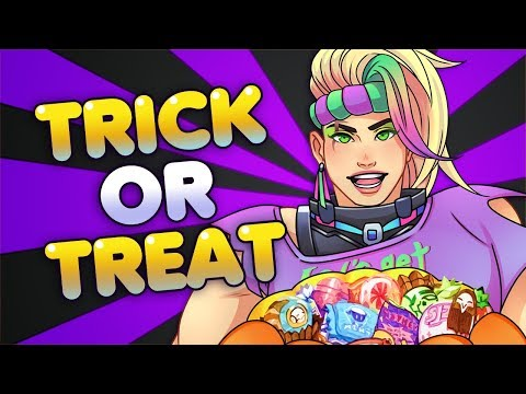 Trick or Treat【Overwatch Lootbox Opening】