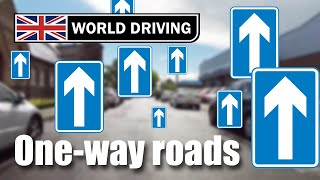 One-way roads - driving test tips (West Wickham driving test route PART 4)