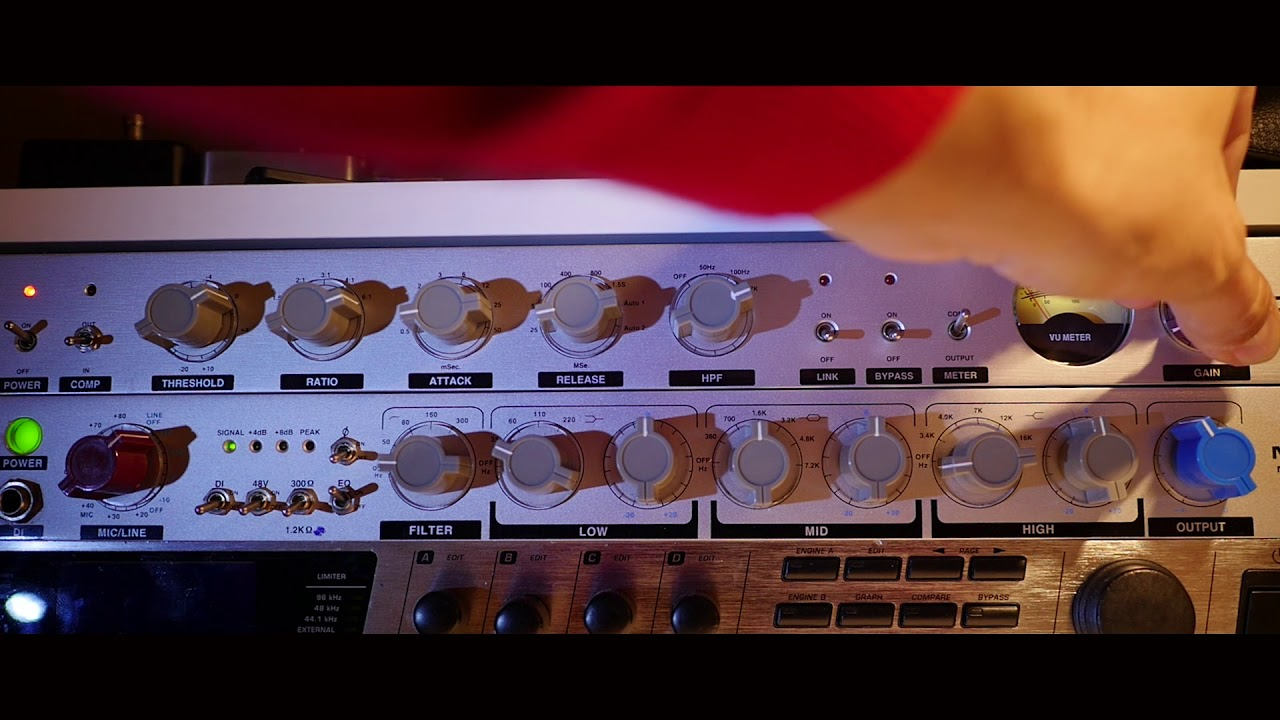 Awesome Neve 1073 & 2254 Style Comp/Pre/Eq - Alctron MP73EQ & CP540