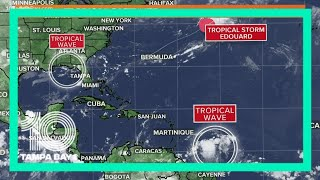 Tracking the Tropics: NHC tracking 2 disturbances, but Florida is OK