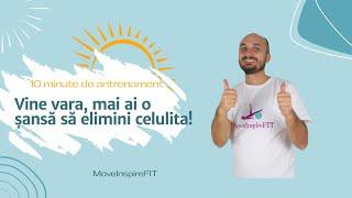 Exerciții fizice pentru pielea lăsată și celulită // MoveInspireFIT // Ziua 5