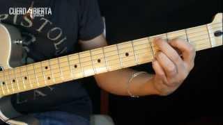 Como tocar Juntos a la Par de Pappo - Leccion de guitarra para principiantes