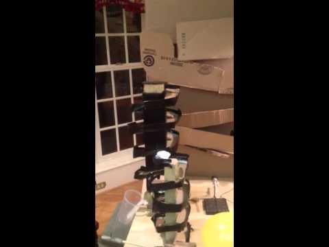 Coach Swisher 1st Period TED Rube Goldberg Machine