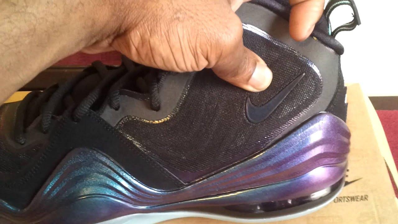 8b5032d70ae Nike Air Penny V 5 Invisibility Cloak - YouTube