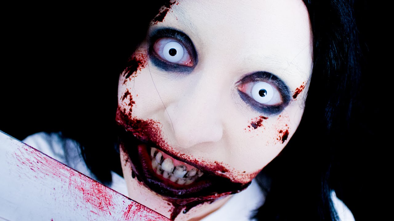jeff the killer makeup fx youtube