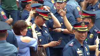 Albayalde promotes 16,000 policemen amid 'cleansing' drive