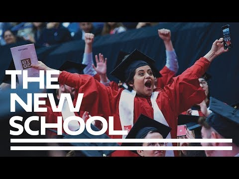 The New School 2018 Commencement Ceremony