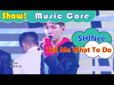 [Comeback Stage] SHINee - Tell Me What To Do, 샤이니 - 텔 미 왓 투두 Show Music core 20161119