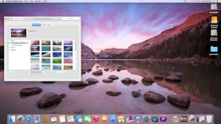 New Look With New Icons & Wallpapers on OS X 10.10 Yosemite