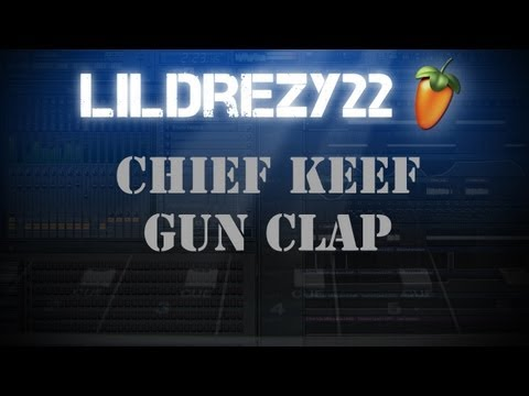 Chief Keef Gun Clap Instrumental @LILDREZY22 #FLP