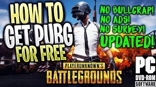 How To Get PUBG + Multiplayer! for FREE Crack! NEW! (Updated Method 2018!)