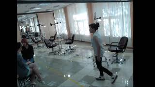 Демонстрационный экзамен по компетенции «Парикмахерское искусство» 30 Мая 2018г  Камера 1