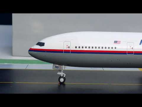 JC Wings 200 Malaysia Airlines B777-200ER(Flight 17 Commemorative Special Edition)Review