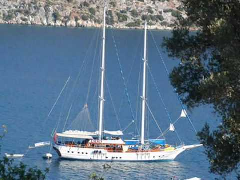 Charter gulet Aegean Clipper in Turkey.wmv