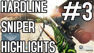 Battlefield Hardline - Epic Sniper Highlights 3