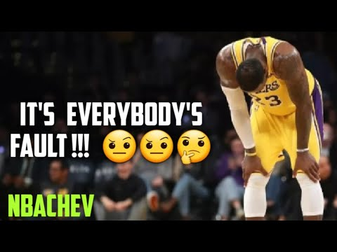 LAKERS MISS THE PLAYOFFS| IT'S EVERYBODY'S FAULT