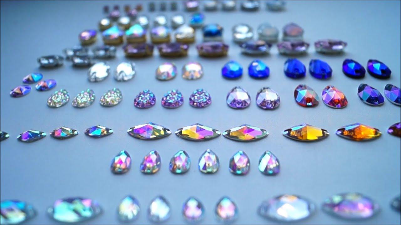 Обзор материалов для рукоделия кристаллы и стразы/матеріали для .