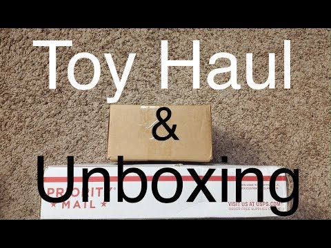 Action Fgure Haul & Unboxing #86 Another Giveaway Prize!! Toy Haul & Review Preview