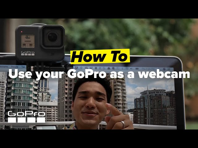 GoPro: How To Use Your GoPro as a Webcam | Mac OS