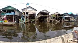 Kampong (kompong) Phluk, Tonle Sap Lake: Floating Village