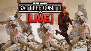 ⚡BATTLEFRONT 2 LIVE - Can we get some heroes without officers? Let's try.