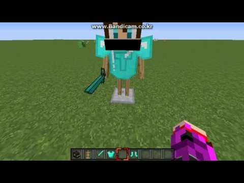 minecraft how to make a armor stand with arms