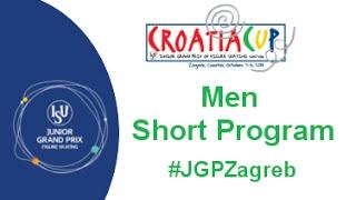 2015 ISU Junior Grand Prix - Zagreb Men Short Program