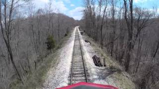 Cab Ride on the Indiana Rail Road Preview