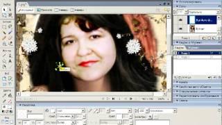 Урок 1 блёстки в Macromedia Fireworks 8