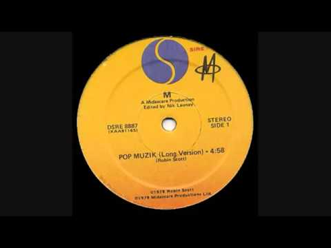 "M -  Pop Muzik ( 12"" Long Version)"