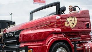 Dikke wagens, met o.a. de gruwelijke Scania Chimera op het Truckstar Festival 2018
