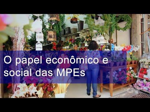 O papel econômico e social das MPEs