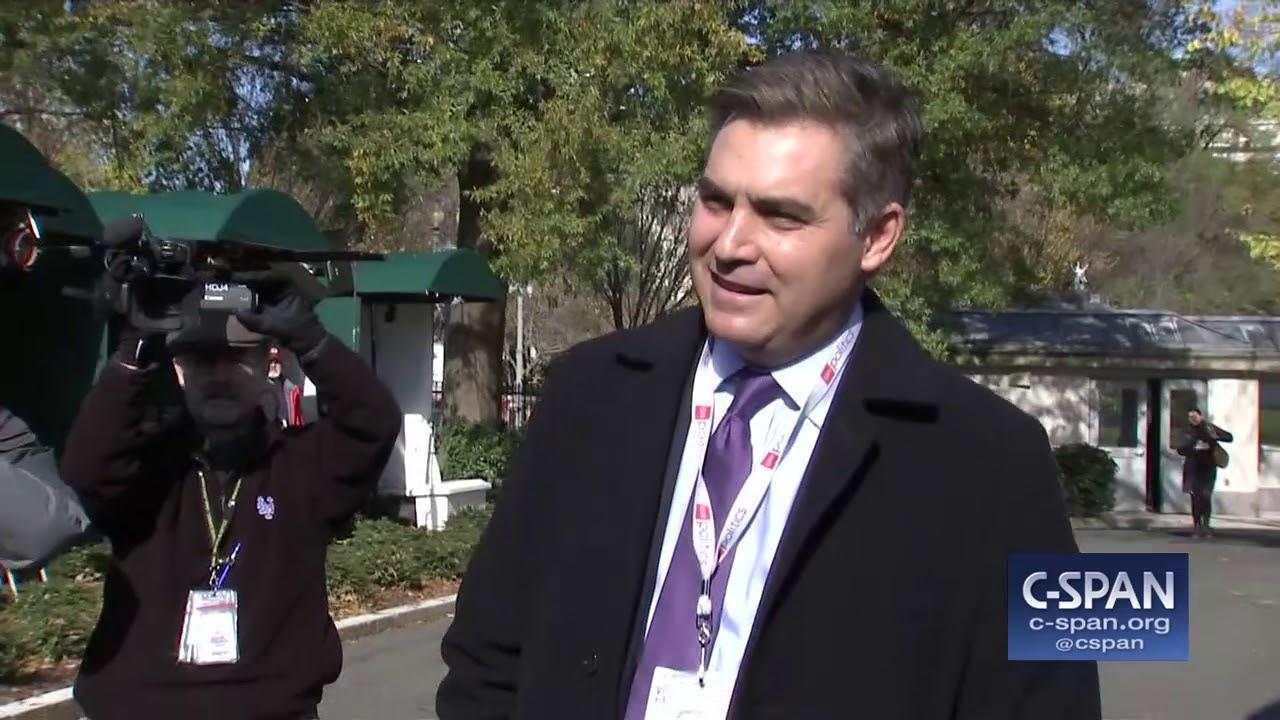 CNN's Jim Acosta returns to the White House (C-SPAN)