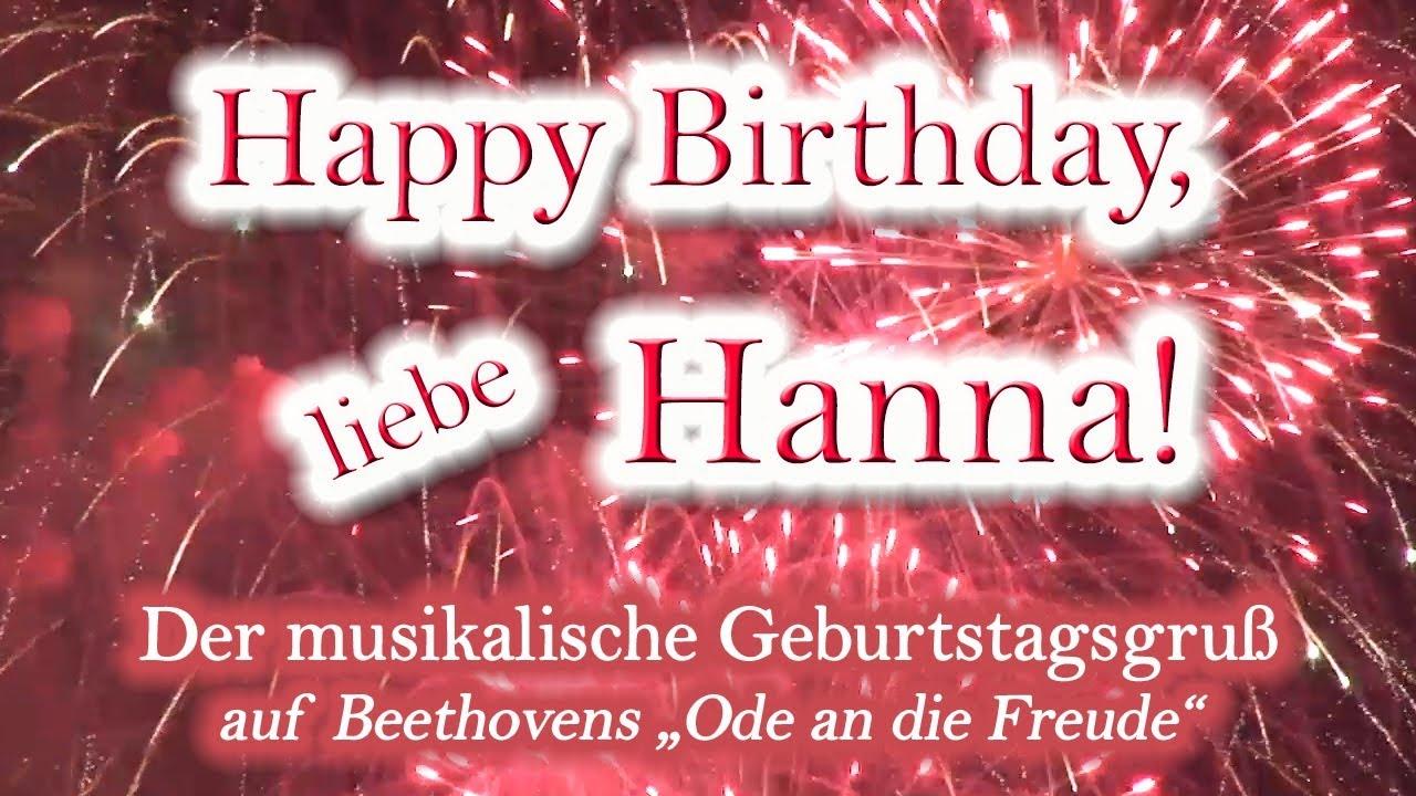 Pin By Hanna Kropkowska On Happy Birthday: Happy Birthday, Liebe Hanna! Alles Gute Zum Geburtstag