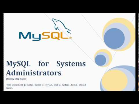 MySQL Tuning and Troubleshooting for System Admins