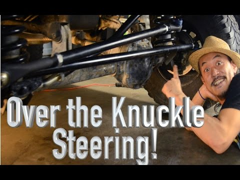 1-Ton Over The Knuckle Steering  - Jeep Cherokee XJ - The Roadhouse