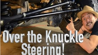 1 ton over the knuckle steering jeep cherokee xj the roadhouse