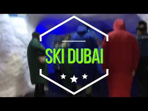 SKI DUBAI EXPERIENCE | Face Mask is a must!
