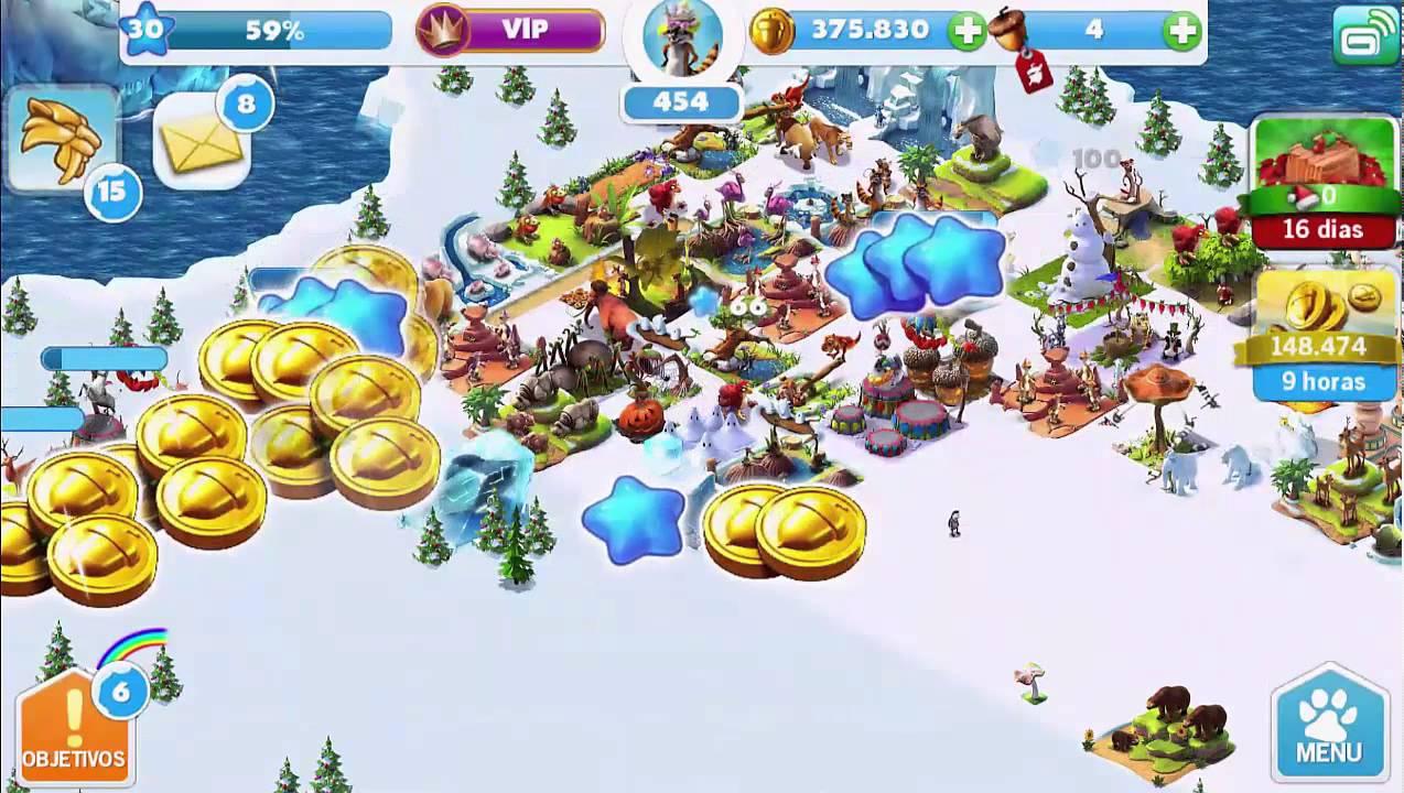 ice age village level 30  youtube