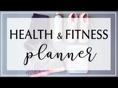 Health & Fitness Planner Flipthrough