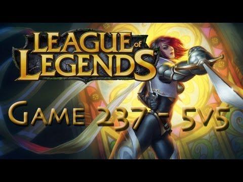 LoL Game 237 - 5v5 - Fiora - 1/2