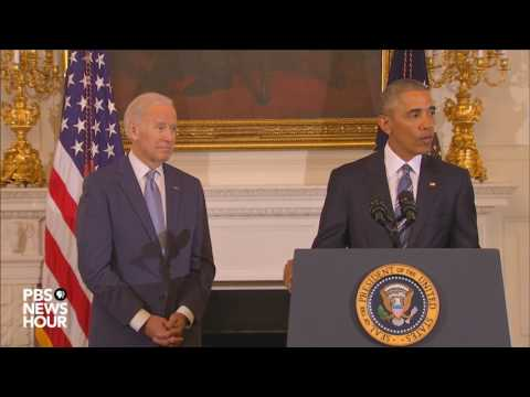 Watch full Medal of Freedom ceremony for Vice President Joe Biden