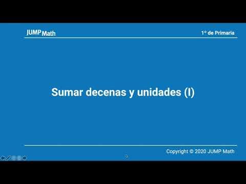 1. Unidad 8. Sumar decenas y unidades (I)