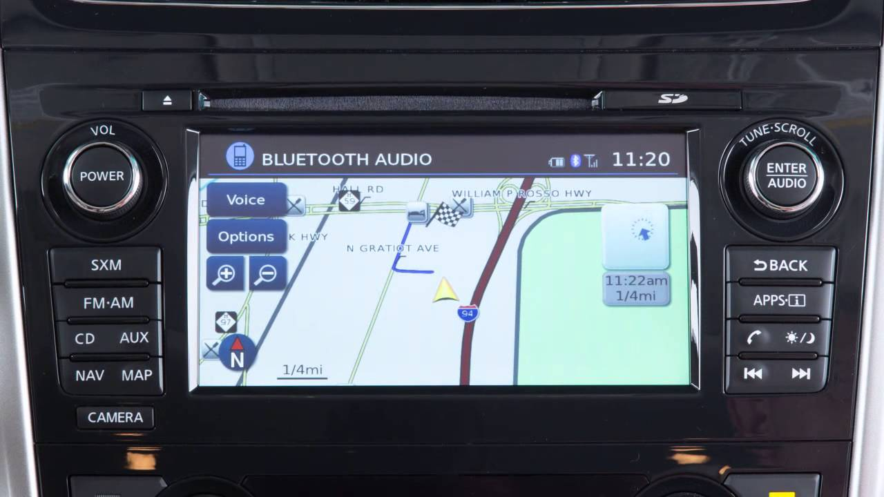 2015 nissan altima navigation system overview if so equipped