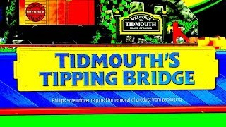 Thomas & Friends Tidmouth's Tipping Bridge - A 2014 Wooden Railway Toy Train Destination Review