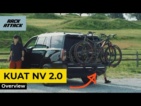 Kuat NV 2.0 Platform Bike Hitch Rack Review Overview Demonstration
