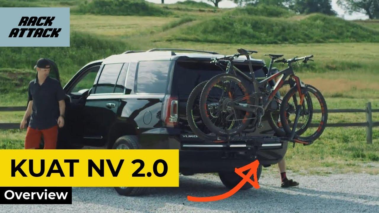 kuat nv 2 0 platform bike hitch rack review overview demonstration