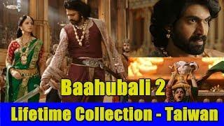 Baahubali 2 Lifetime Collection In Taiwan